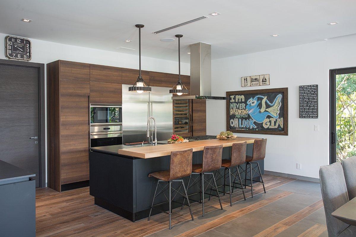 Interior Design kitchen view project in Boca Raton, Florida