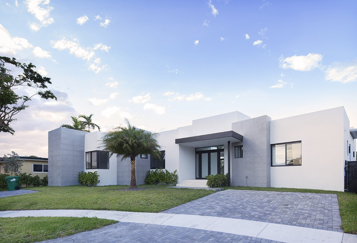 Front View Exterior Architecture project in Enchanted Lakes, Florida