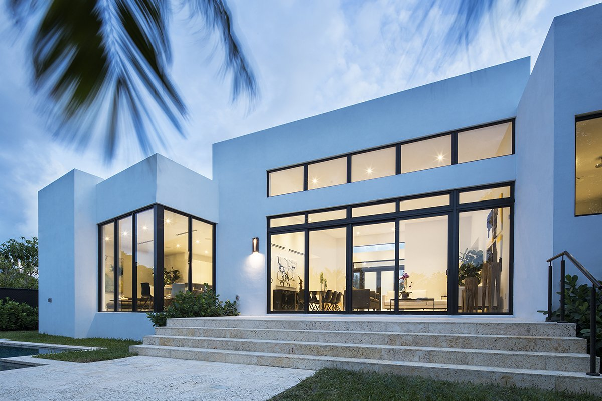 Back View Exterior Architecture project in Enchanted Lakes, Florida