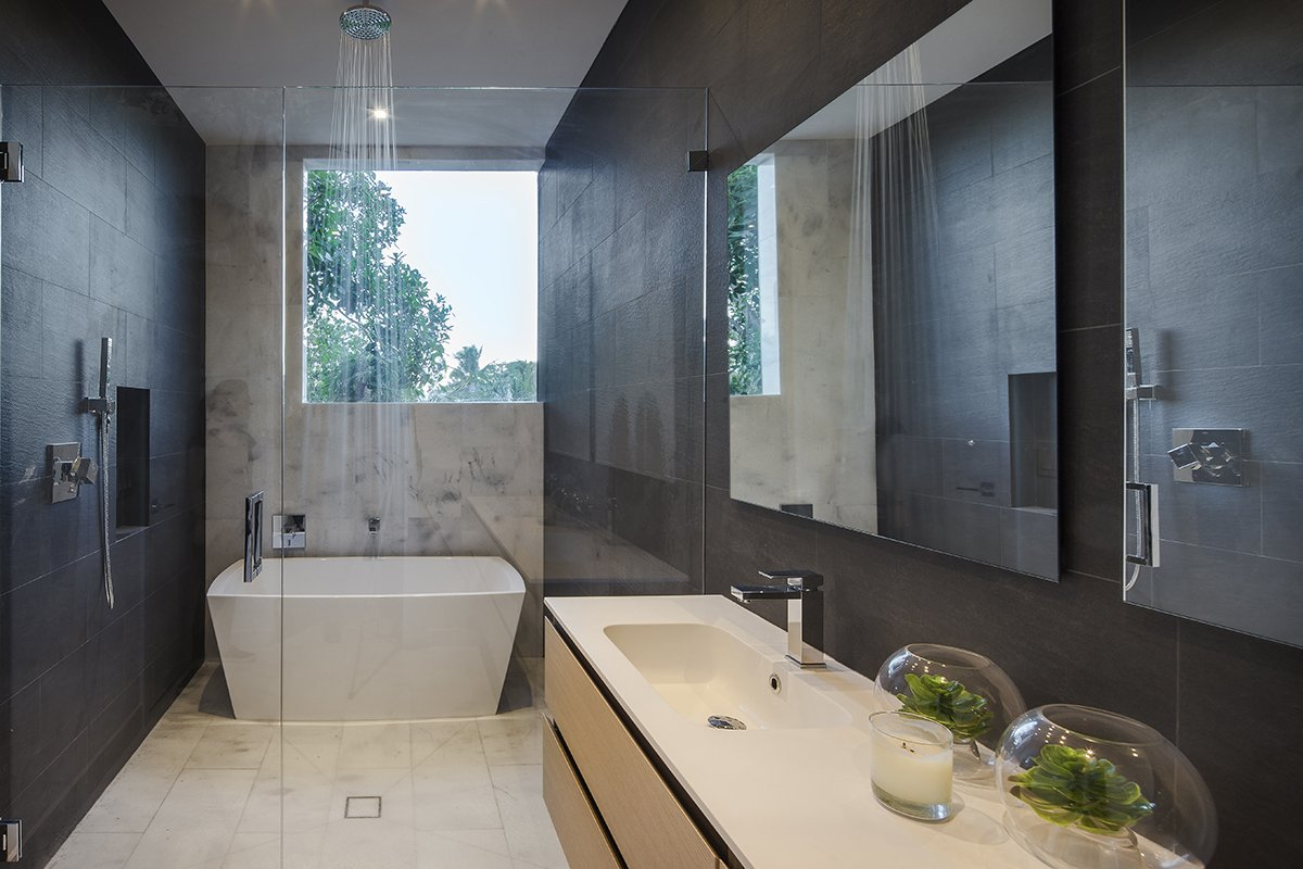 Bathroom Side View Interior Design project in Enchanted Lakes, Florida
