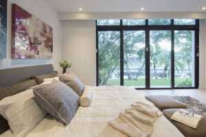 Bedroom Side View Interior Design project in Enchanted Lakes, Florida