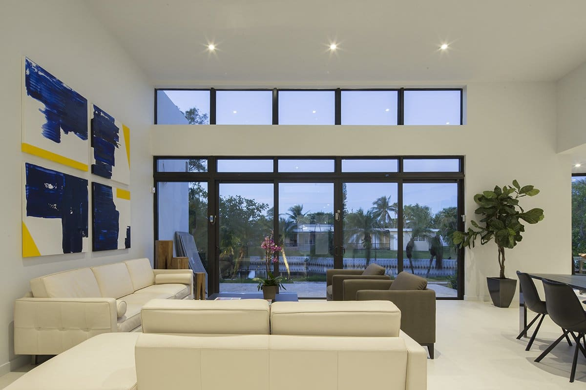 Living Room Side View Interior Design project in Enchanted Lakes, Florida