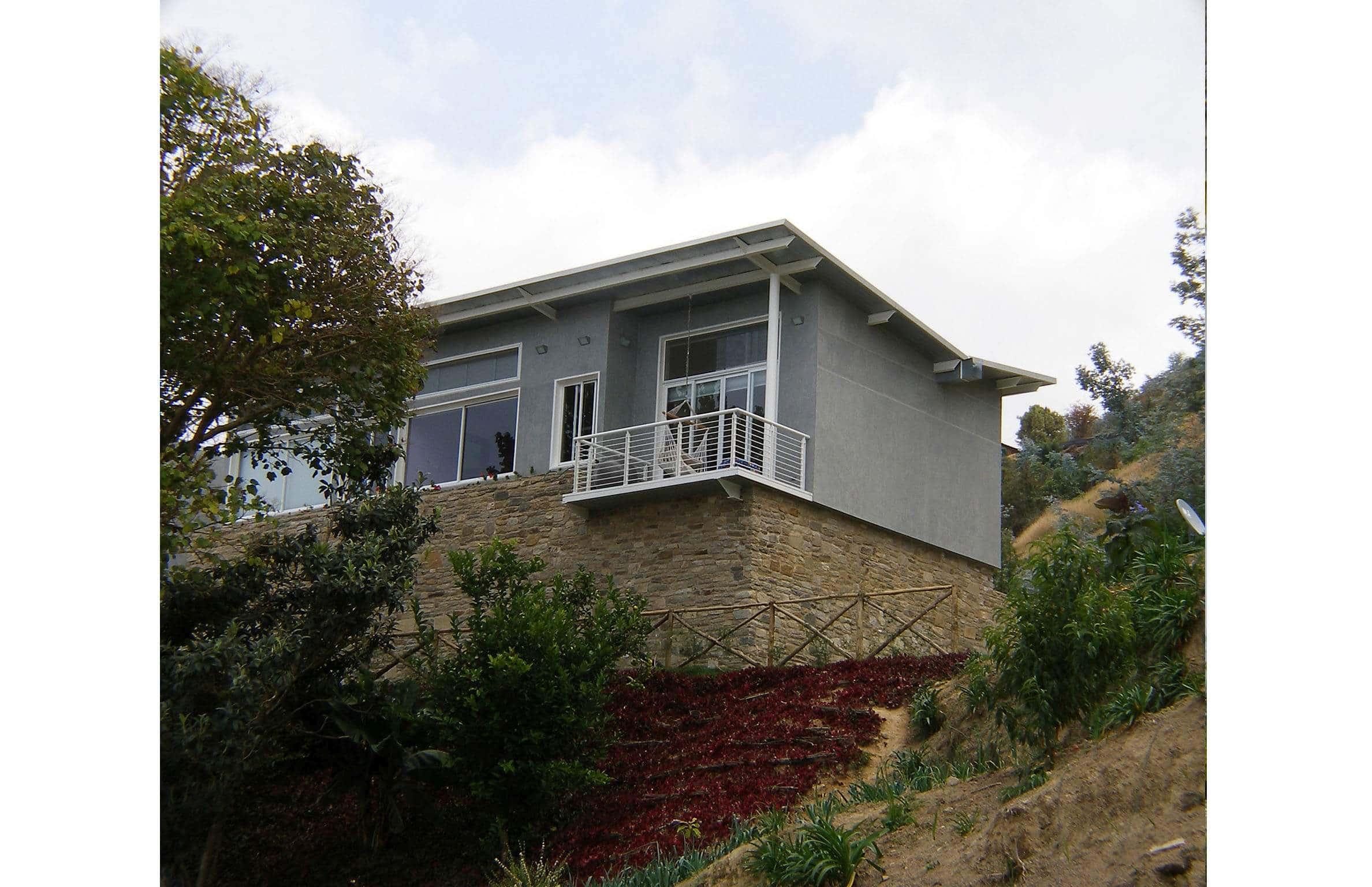 Exterior Architecture front view project in Galipan El Avila, Venezuela