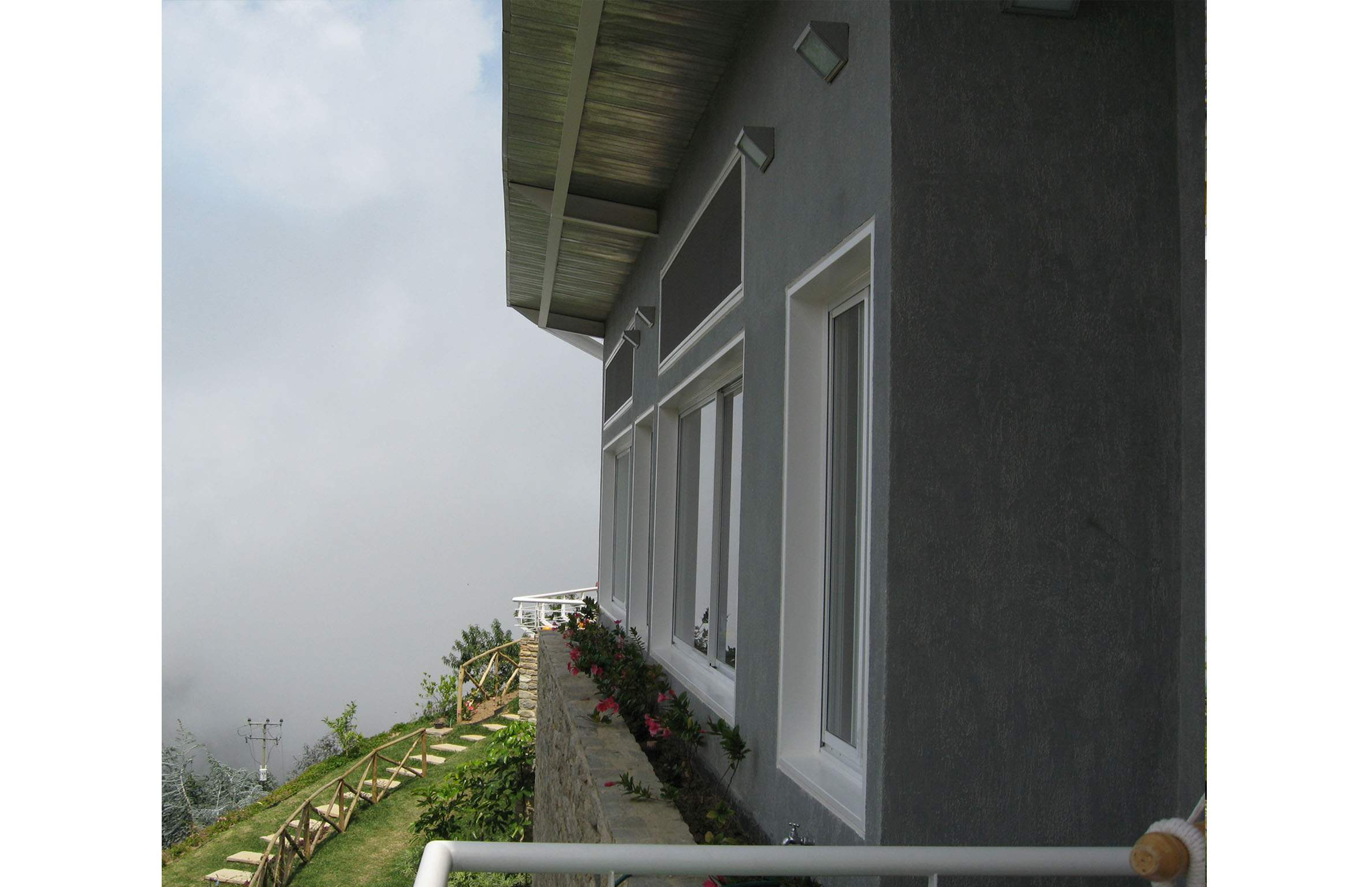 Exterior Architecture side view project in Galipan El Avila, Venezuela