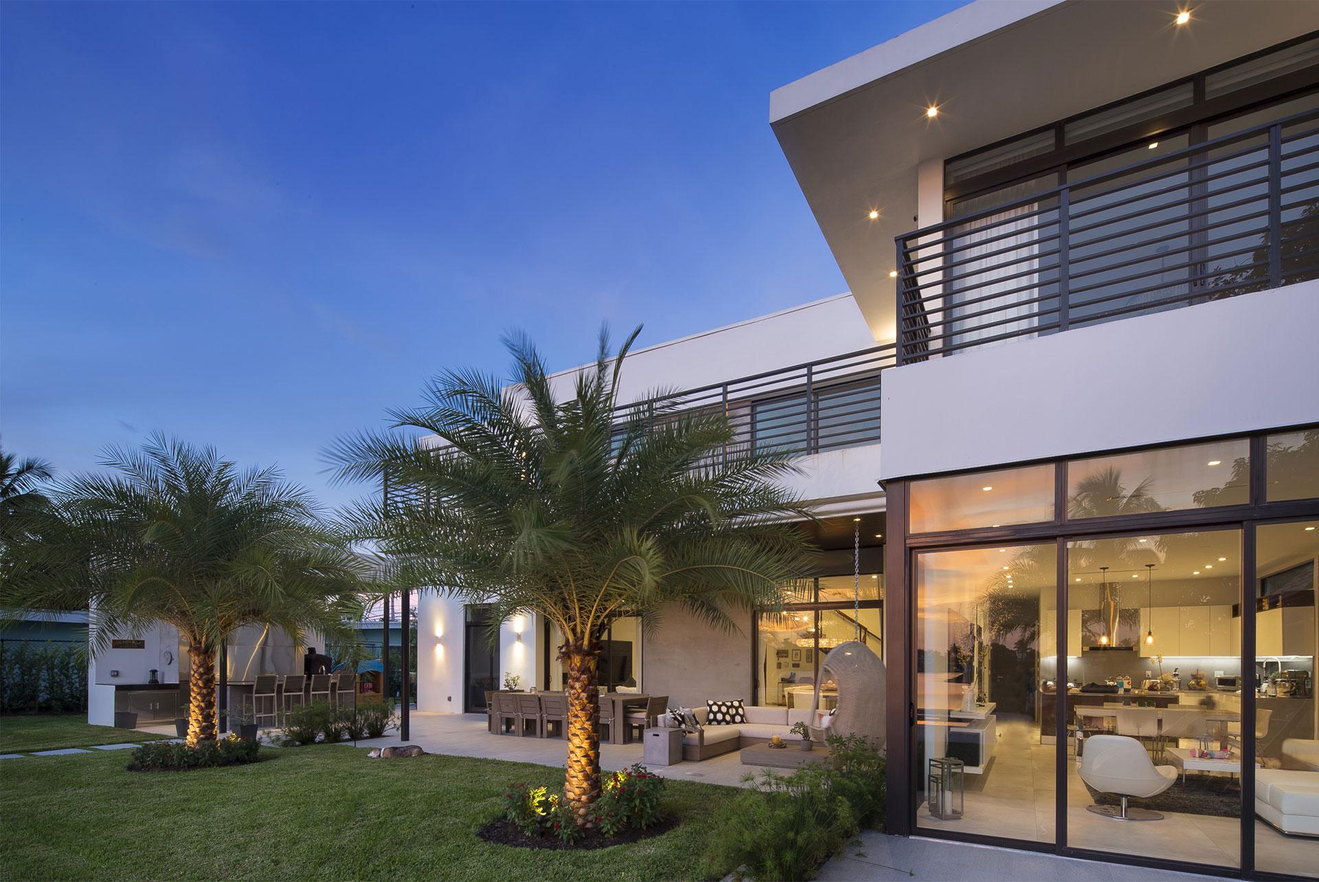 Terrace View Exterior Architecture project in North Miami Beach, Florida