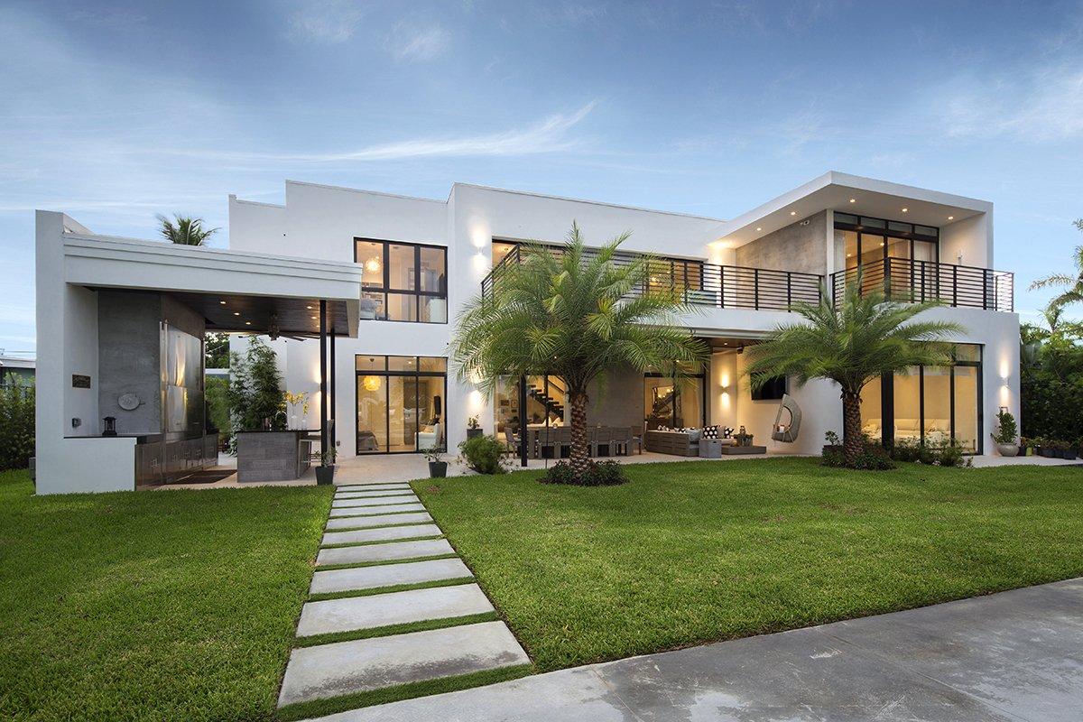 Back View Architecture project at North Miami Beach, Florida