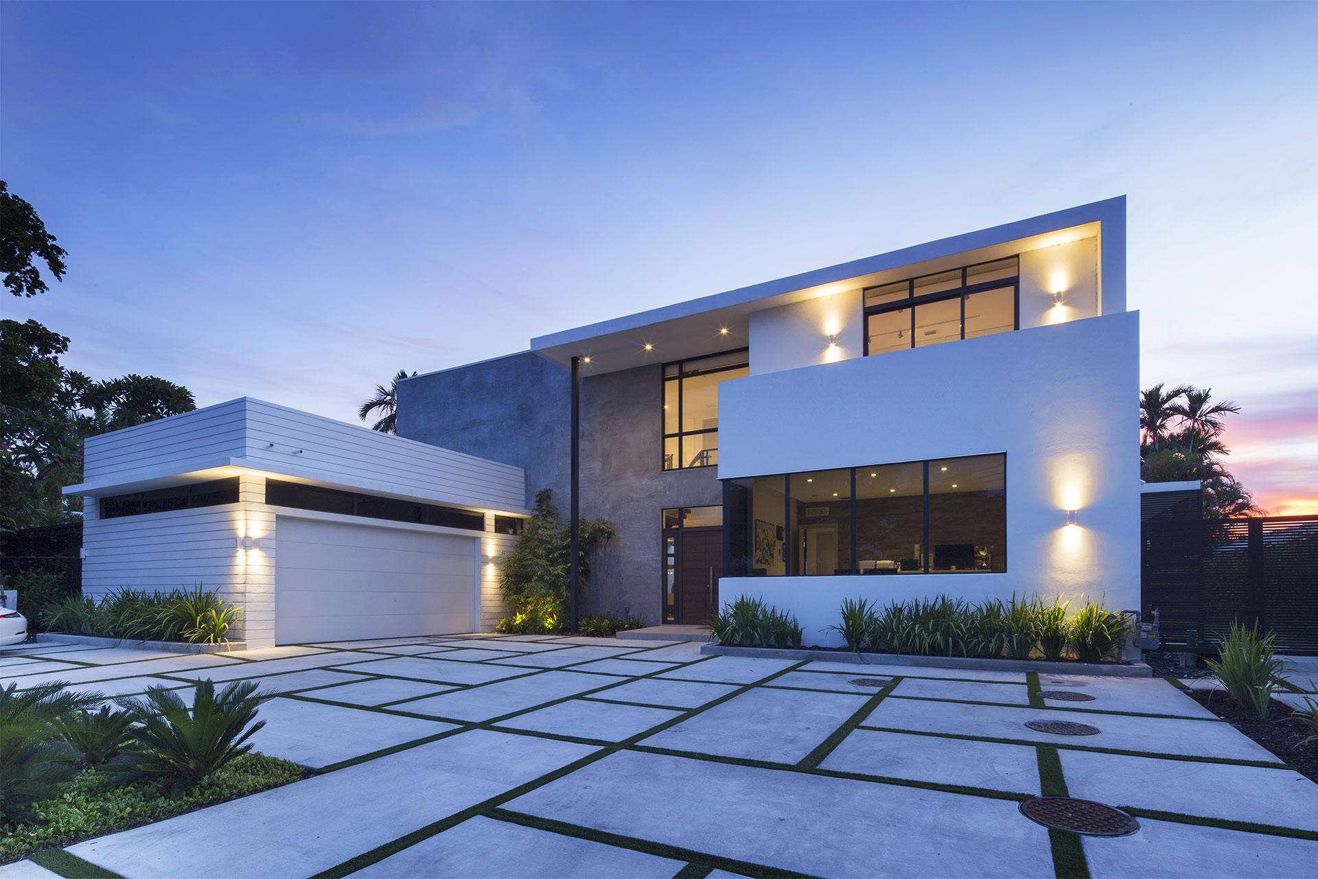 Architecture project in North Miami Beach, Florida