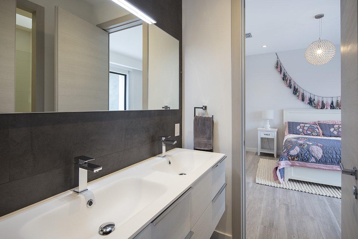Bathroom Side View Interior Design project in North Miami Beach, Florida