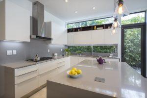 Kitchen Side View Interior Design project in North Miami Beach, Florid