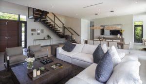 Living Room View Interior Design project in North Miami Beach, Florida