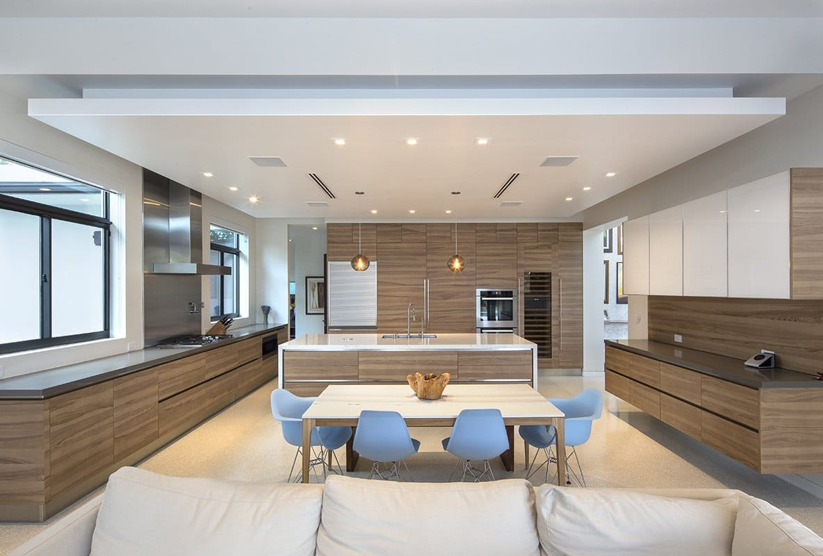 Kitchen View Interior Design project in Pinecrest, Florida