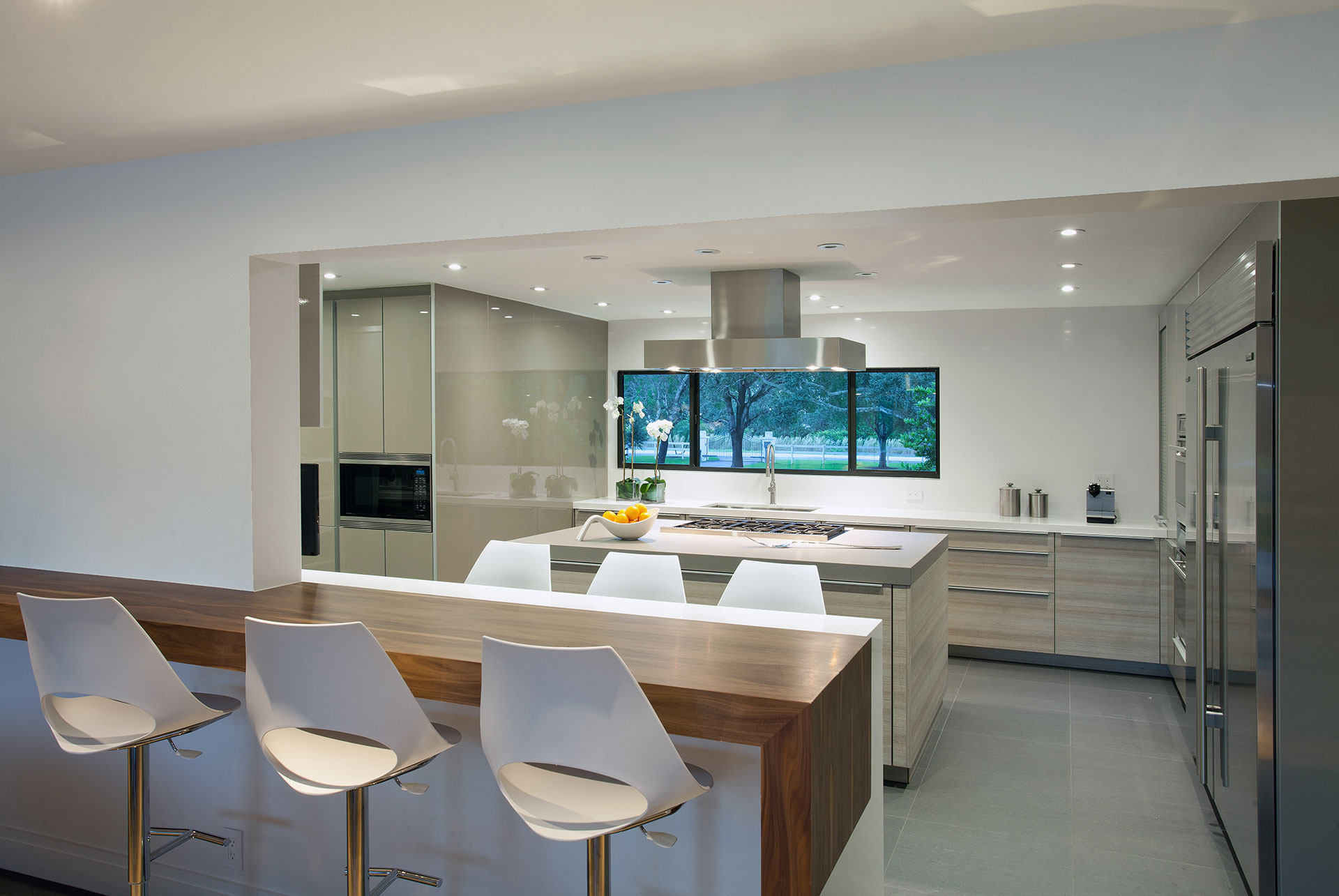 Interior Design kitchen view project in Southwest Ranches, Florida