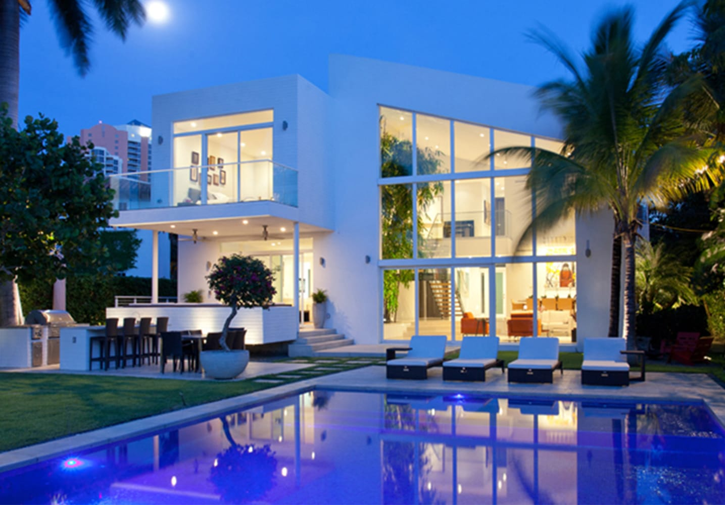 Tribute to our first built project in Miami!