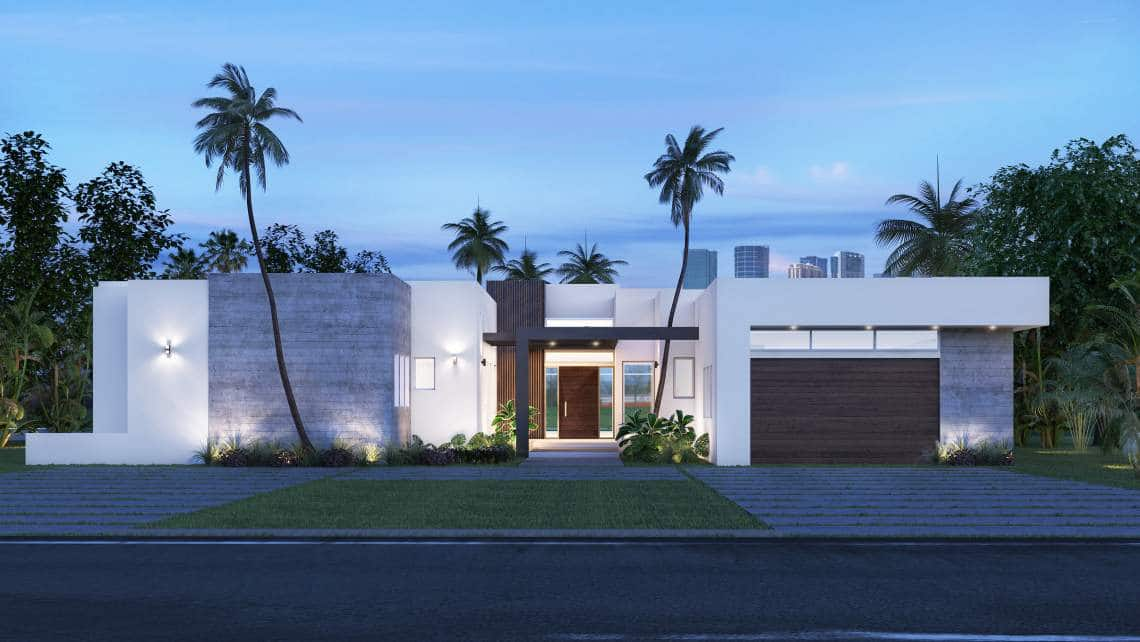 Architecture and Construction Administration project in 217 Golden Beach, Florida