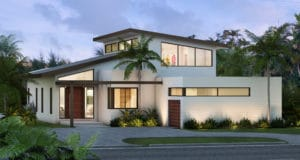 Architecture, Interior Design and Construction Administration project in 654 Golden Beach Dr, Florida