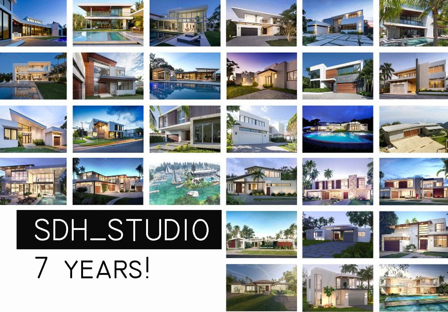 SDH Studio 7 years!
