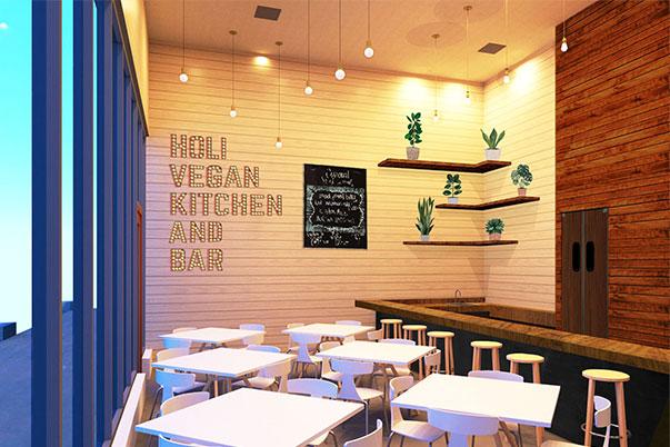 holi vegan restaurant