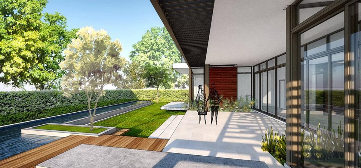 Interior design project in 407 Golden Beach Drive