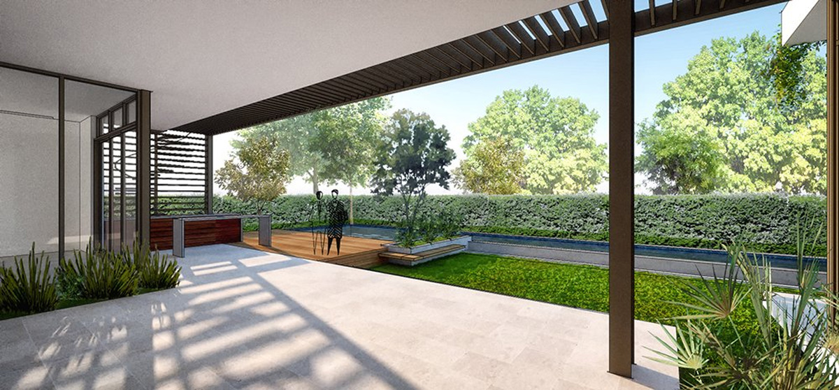 We developed the Interior design of the 407 Golden Beach Drive