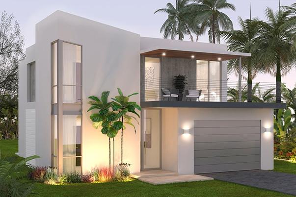 Three Villa